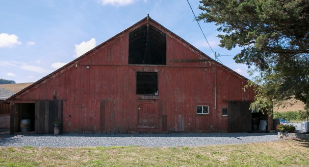 stemple creek barn outside