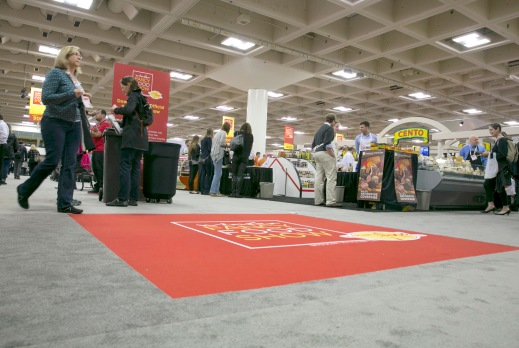 fancy food show floor