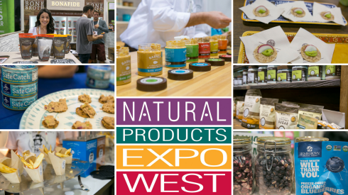 natural products expo west collage