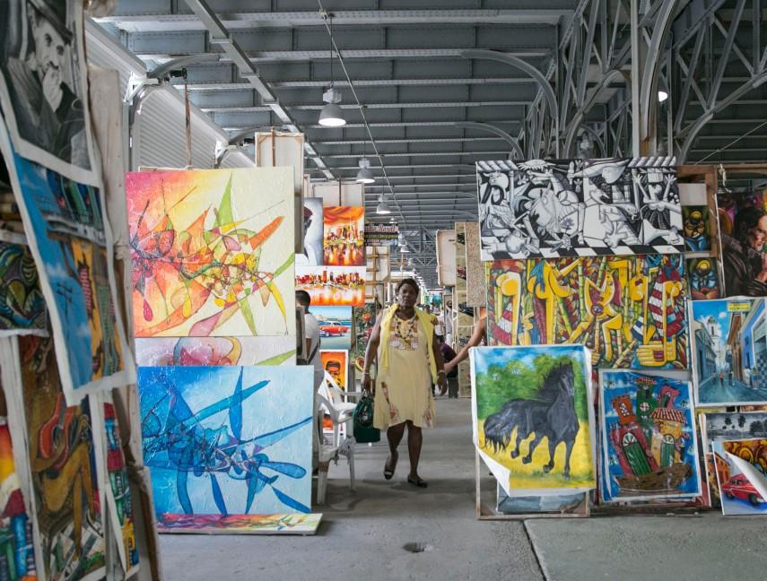 art alley at warehouse havana