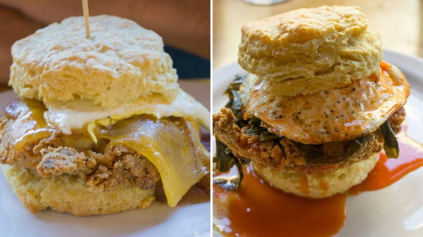 pine state biscuit collage