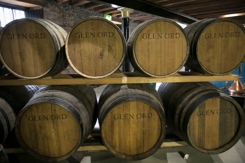 glen-ord-whisky-barrels