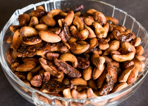 Video blog food guru blog homemade chai spiced roasted nuts recipe forumfinder Images